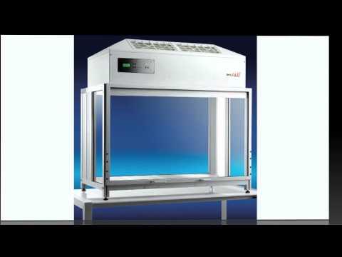 SPETEC Portable Reinraumtechnik-Laminar Flow Modul FMS-Serie SuSi