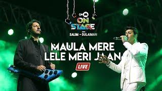 Maula Mere Lele Meri Jaan | Salim Sulaiman Live | Vipul Mehta | 9XM On Stage