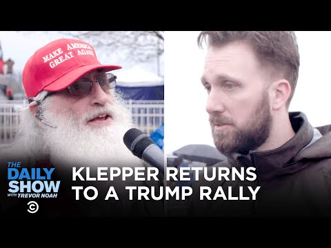 Jordan Klepper Fingers the Pulse of Trump Supporters on Impeachment | The Daily Show