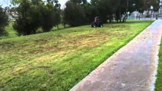 125cc quad bike drift