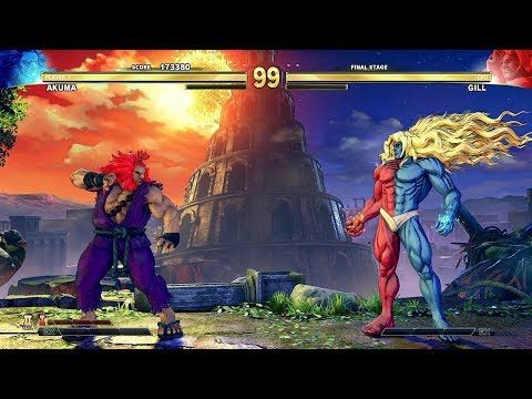 street-fighter-5---gill-final-boss-(arcade-mode)-@-1440p-(60ᶠᵖˢ)-✔