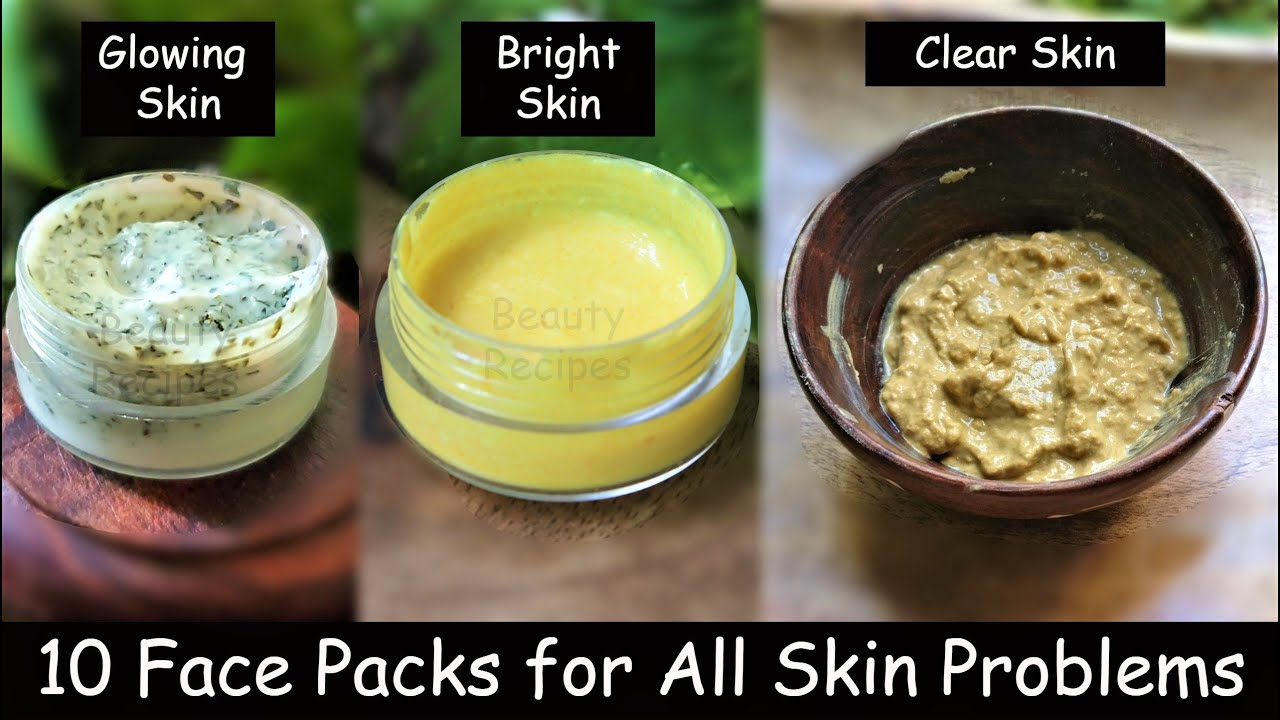 10 Best 2-Ingredient Night Face Packs to Wake up with Clear & Glowing Skin - Turmeric Face Pack