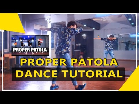 Proper Patola Dance Tutorial Step By Step | Vicky Patel Choreography | Easy Hiphop For Beginners