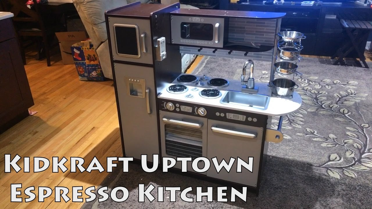Kidkraft Uptown Espresso Kitchen Review