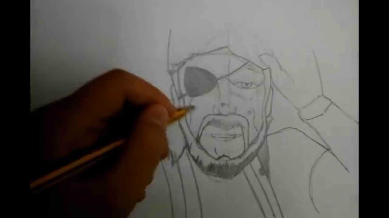 como dibujar a Solid Snake - YouTube
