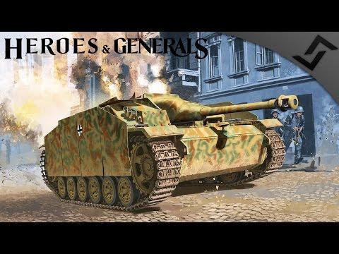 StuG 3 (Tanker) vs Pe-3 vs the World - Heroes and Generals - German Tank Destroyer Gameplay