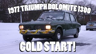 Triumph Dolomite 1300 Cold Start!