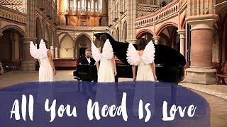 Hochzeitslieder - Engelsgleich Chor - Angelrellas - All you need is love - Cover