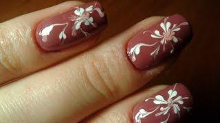 Рисунки на ногтях иглой(, 2016-03-03T21:27:02.000Z)