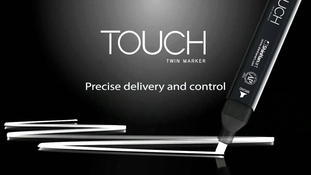 Touch twin Marker Brush br104 présentation Marker-Brown Grey