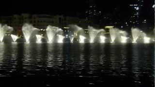 Dubai Fountain- Burj Khalifa U.A.E Chinese song