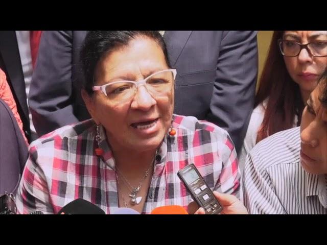 Entrevista a Nashieli Ramírez al finalizar la Disculpa Pública derivada de Recomendación 19/2018