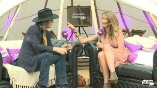 Mike Scott from the Waterboys Absolute Radio Interview: Isle of Wight Festival 2014