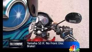 Yamaha SZ-X on OVERDRIVE