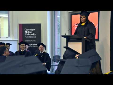 Graduation Highlights August 2014 - Carnegie Mellon University Australia