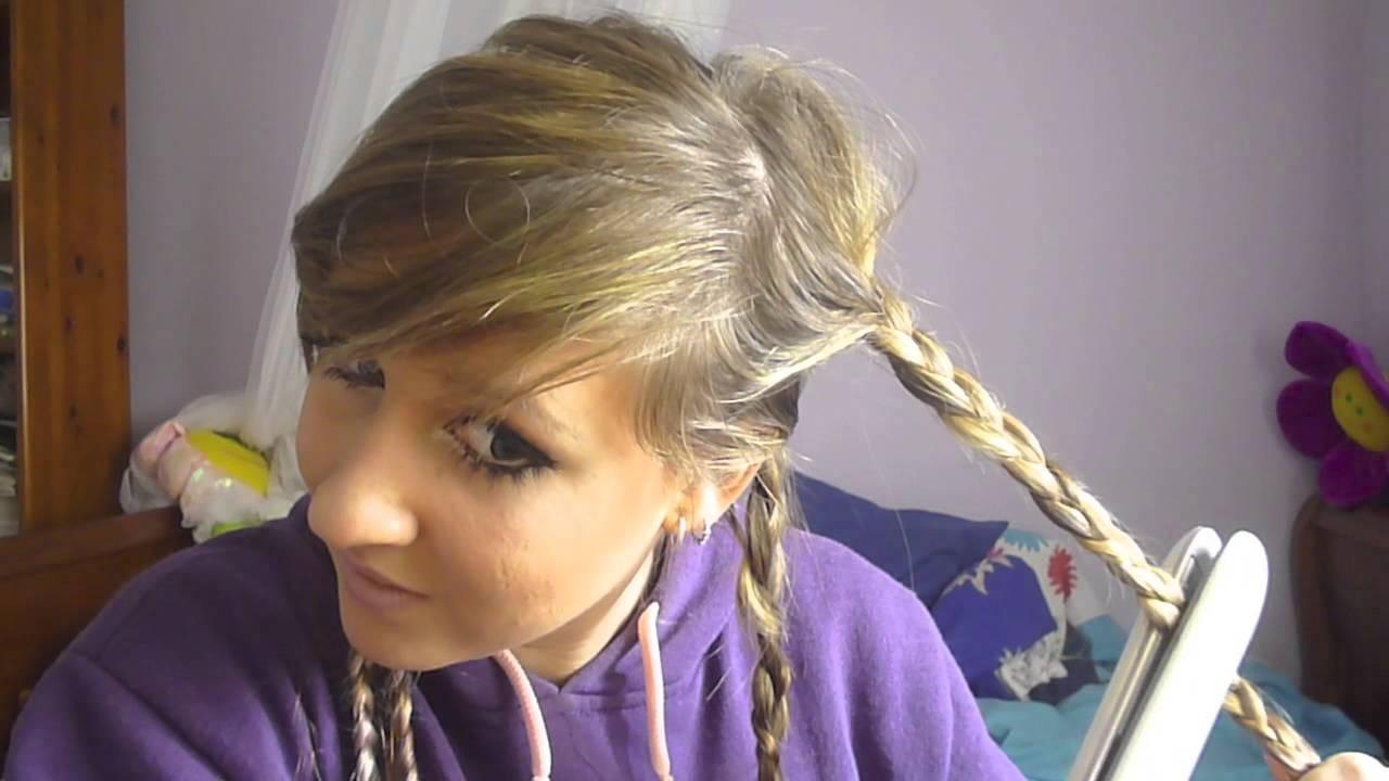 Como hacer ondas en el cabello con tenacillas paso a paso