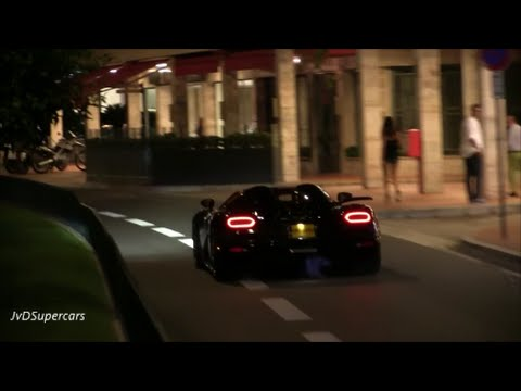 Woman in Koenigsegg Agera R goes Crazy in Monaco!