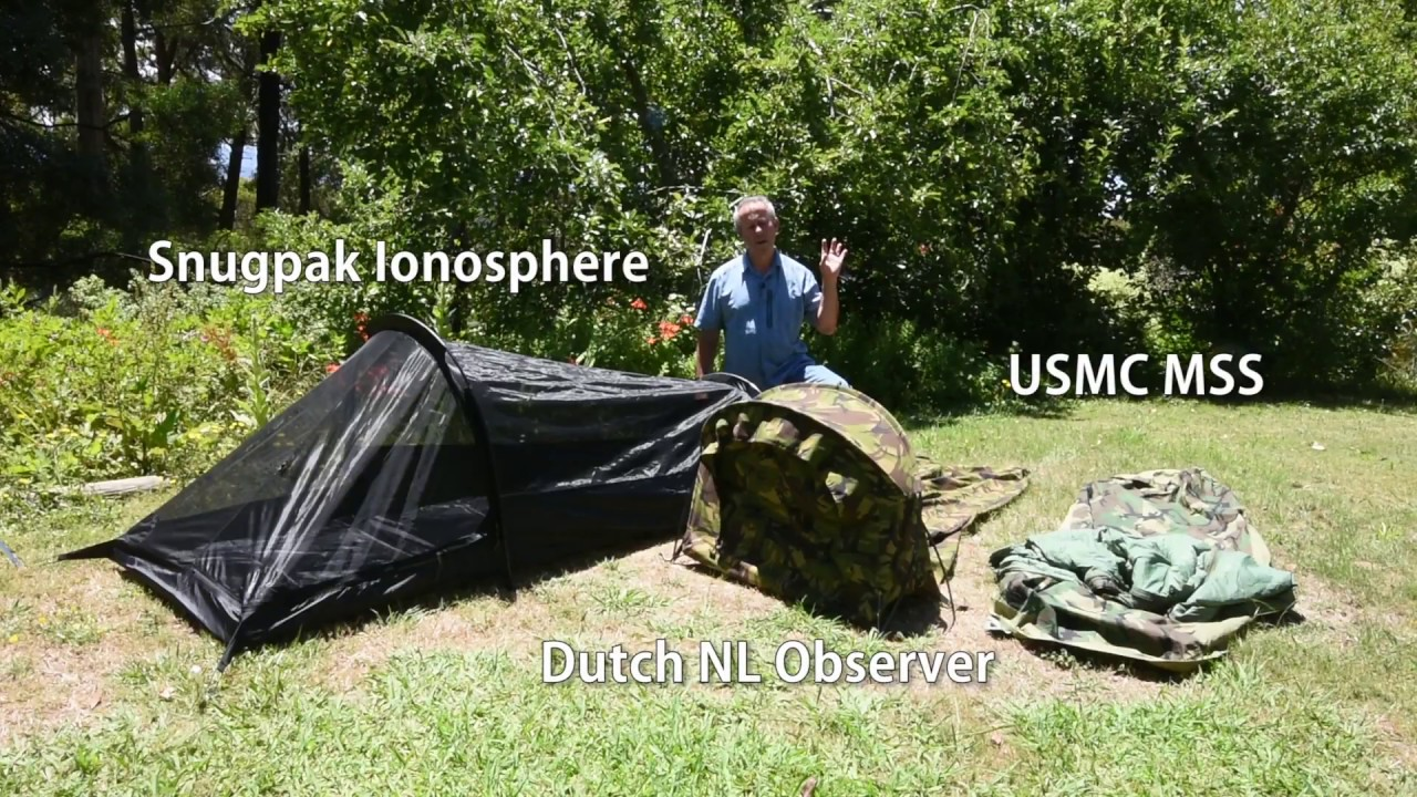 Bivvy Bag Versus Hooped Tent The Snugpak Ionosphere