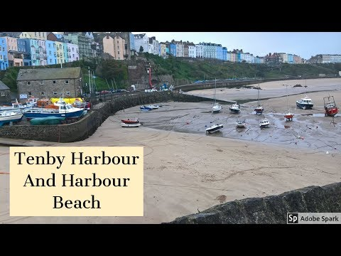 Travel Guide Tenby Harbour And Harbour Beach Pembrokeshire South Wales UK Pros And Cons Review