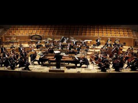Béla Bartók, Concerto for two pianos, percussion and orchestra. Juanjo Guillem-Rafa Gálvez