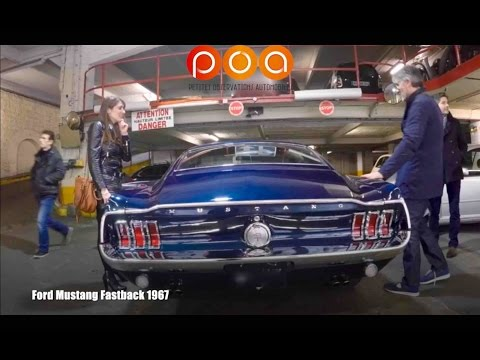 Ford Mustang Fastback 1967 : une full stock qui déchire :-)