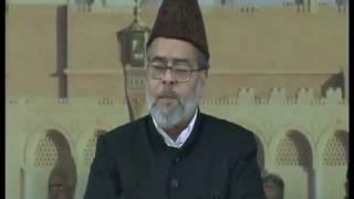 Jalsa Salana Qadian-2011 Concluding  Thanks Giving by Nazir Sahib Aala Qadian.