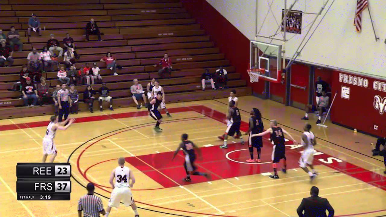 FCC Men's Basketball vs Reedley College