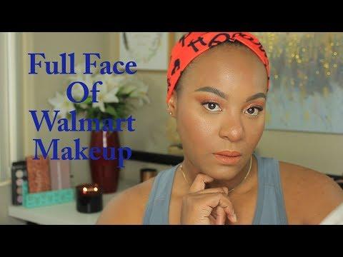 Full Face of Walmart Makeup thumbnail