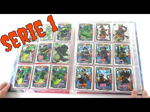 LEGO Ninjago Trading Card Game Serie 1 / Mappenupdate / 180 Karten