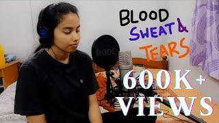 Indian girl sings Blood Sweat and Tears by BTS (Korean Version)