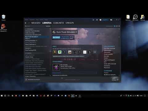 Come tornare ad una versione precedente di ETS2  o ATS su Steam