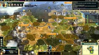 Civilization V - Brave new World - no quitters Multiplayer - game 3-2 (gameplay)