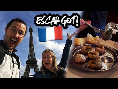 EATING SNAILS & 24 HOURS IN PARIS // Paris, France