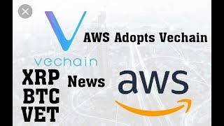 AWS Cloud Adopts Vechain. Ripple XRP up 10 %. Self-Professed Satoshi Nakamoto Publishes Part 1 of 'M