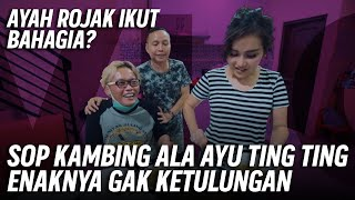 Download lagu BAHAGIANYA SULE DI SIAPIN MAKANAN SAMA AYU TING TING❗️