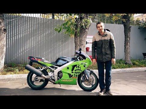 Спортбайк который не едет | Kawasaki ZX-6R