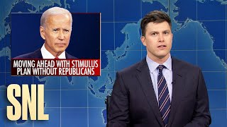 Weekend Update: Biden's Stimulus Plan - SNL