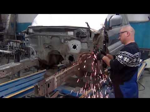 Mitsubishi Pajero Pinin - кузовной ремонт
