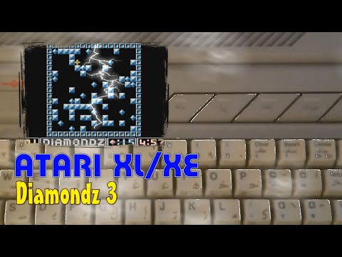 Atari XL/XE -=Diamondz 3=-