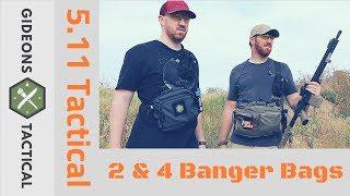OUTSTANDING! 5.11 Tactical 2 & 4 Banger Bags