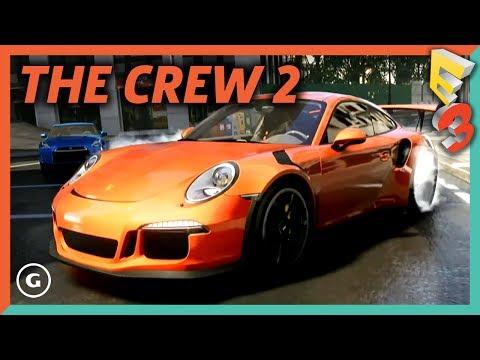 The Crew 2 Full World Premiere | E3 2017 Ubisoft Press Conference