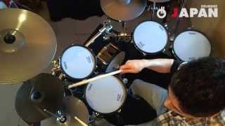 齋藤たかし Takashi Saito - Down The Road - V-Drums