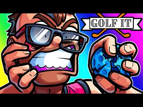 Golf It Funny Moments - We're Back!! And Moo Looses His $h!#