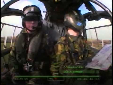 Flying Soldiers episode 6 - BBC 1997 documentary about trainee army helicopter pilots in the uk