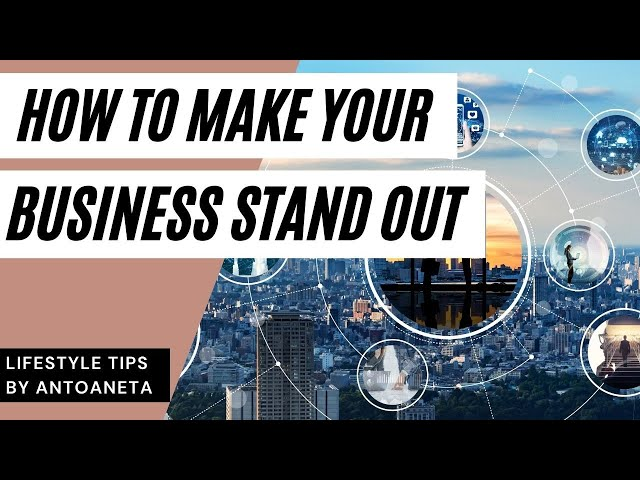 How To Make Your Business Stand Out (Business Tips) #short