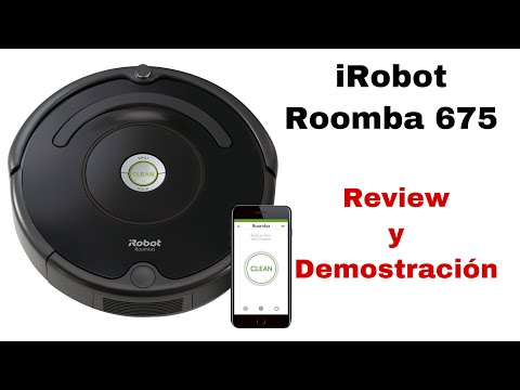 Irobot Roomba 675 Review And Demonstration Irobot Roomba Aspiradora Sharis Diaz Youtube