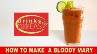 How To Make A Bloody Mary-drinks Made Easy