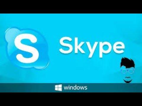 Como Descargar Skype Para PC En Español Gratis  Fácil y Rápido 2018