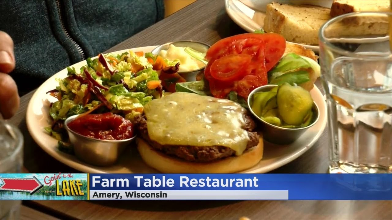 Goin To The Lake Amery Ale Works Amery Farm Table YouTube - Farm table amery