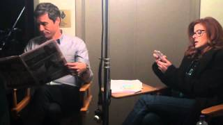 Behind the scenes with Debra Messing & Eric McCormack